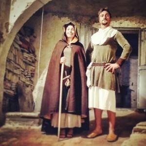 Castruccio Castracani e la Beata Diana Giuntini, a Santa Maria a Monte